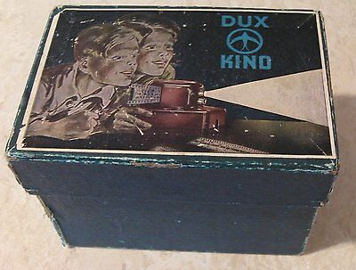 Dux Kino projector Model 44 and Films