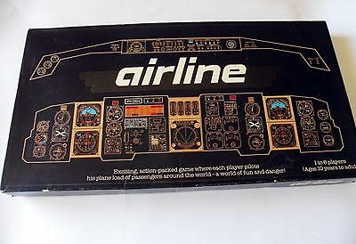 Airline Vintage Board Game - Contents VGC - 1985 - Aviation Aircraft - Rare