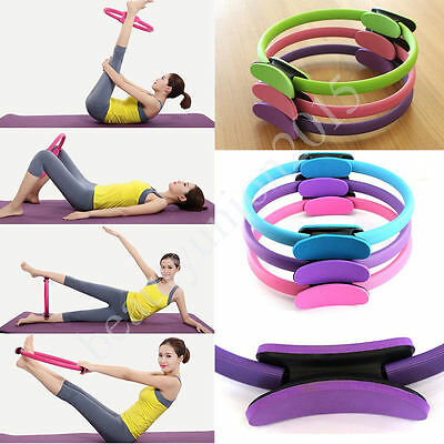 Magic Pilates Ring Fitness Weight Exercise Yoga Circle Full Body Trainer Tool