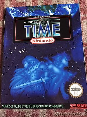 Guide officiel Illusion of time super nintendo