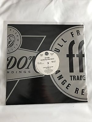 "D-Mob intro Cathy Dennis C'mon & Get My Love 1989 UK 12"" Promo with Press Sheet"