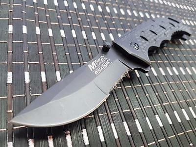 *CAN* Tactical Spring Assisted Blade folding Open Pocket Knife A870BK-MT