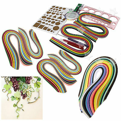 Starter Quilling Paper Kits Cork DIY Tool Folk Decoration Workboard Slotted Tool