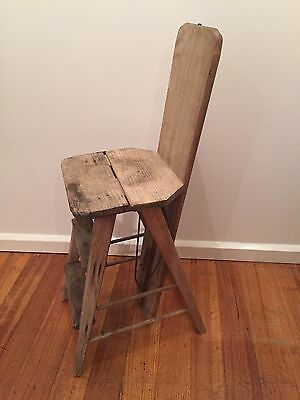 Vintage Early Australian Ironing Board Chair