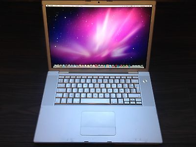 "Apple MacBook Pro A1226 / 15.4"" / Core 2 Duo 2.2 Ghz / Hdd 500 Go / 3 Go Ram"