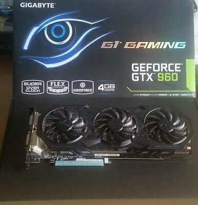 GEforce Gtx 960 G1 gaming 4go