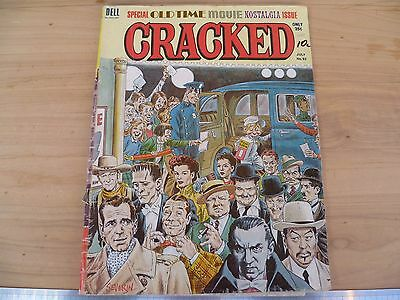 Vintage Old 'cracked' Comic Book, Magazine, Old Book (F94)