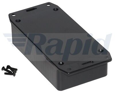 Hammond 1591BSFLBK Multipurpose GPABS Enclosure Flanged Lid 112 x 62 x 31 Black
