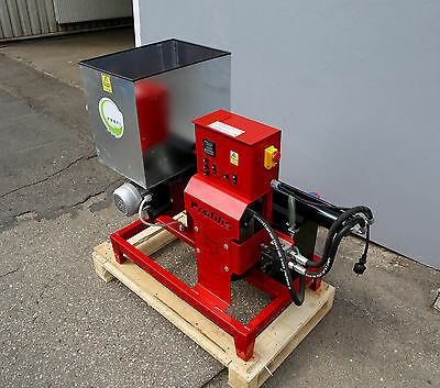 Briquetting Press Sawdust Briquette Machine maker presser Wood waste 230V 12KG/H