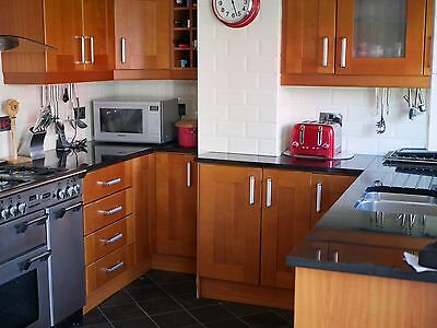 Solid Wooden Kitchen Units , Quartz Worktop Etc..