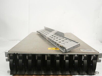 IBM 3542 1RX Hard Drive Storage Array 10 Slot 784GB Fibre 2 x PSU + RAILS **