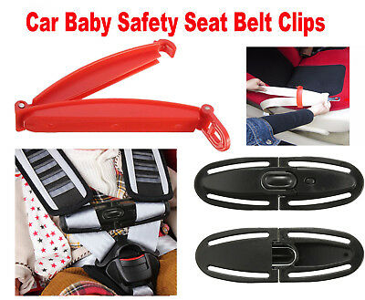 Car Baby Safety Seat Strap Belt Harness Chest / Safe Fixed Lock Buckle Latch AU