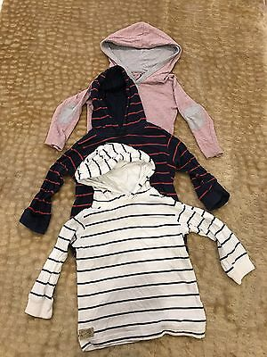 3 X Size 2 Boys Hoodies Next And Cotton On