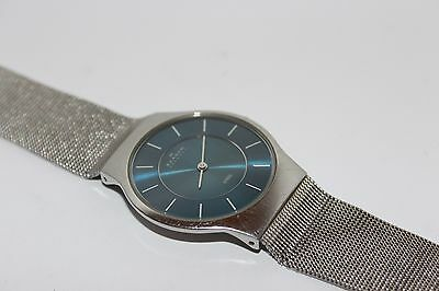 Authentic  Skagen Quartz Steel Wrist Watch 233Lssn