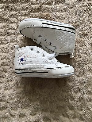 Converse High Top Baby Shoes Size 2