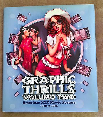 Graphic Thrills Volume Two 2 American Xxx Movie Posters 1970 To 1985 Brand New