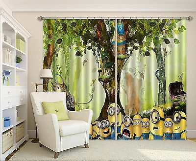 3D Cartoon 82 Blockout Photo Curtain Printing Curtains Drapes Fabric Window CA