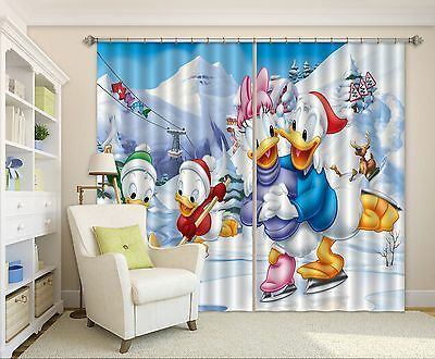 3D Cartoon  782 Blockout Photo Curtain Printing Curtains Drapes Fabric Window CA