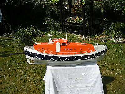 "Vintage Aerokits  "" Solent Class Lifeboat"" R/c Model Boat Plans+Templaes+Insts."