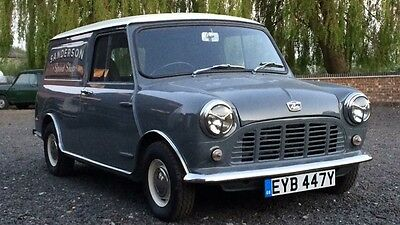 Austin Mini Van 1982 grey immaculate mk1 spec
