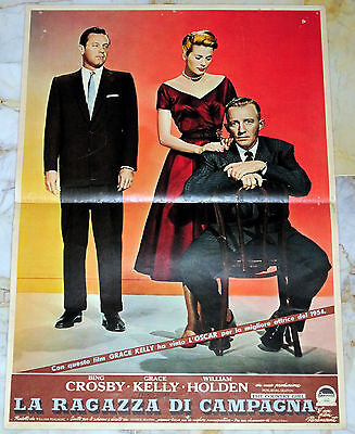"Grace Kelly THE COUNTRY GIRL Italy only 50x70 (19""x27"") photobusta 1st ed. 1955"