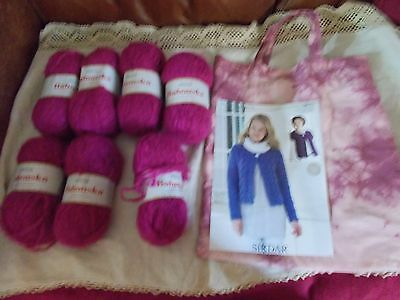 Ladies Cardigan Knitting Kit