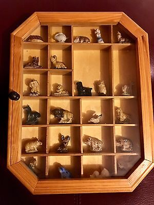 **21 X Wade Whimsies In Display Case 17 Perfect Job Lot**