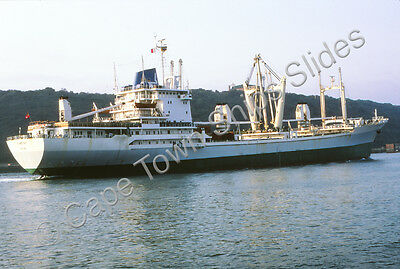 Original Colour Slide Of The Cargo Ship Flamoyant