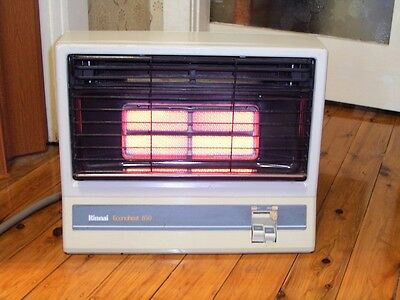 RINNAI 850 NATURAL GAS HEATER Compact and very warm