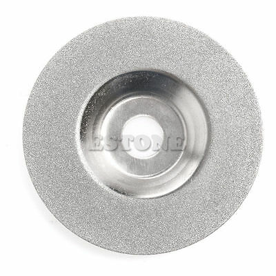 """1Pc 100mm 4"""" Diamond Coated Grinding Wheel Disc Carbide Grinder Rotary Tool"""