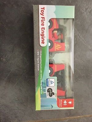 Brand New Toy Fire Engine With 1 Figure - In Box!