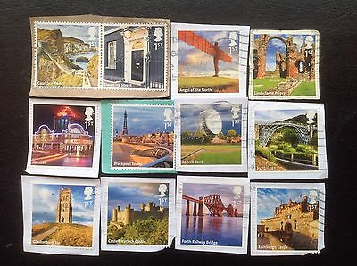 Gb Stamps2011 Uk A-Z (Part 1) Multi Issue Commemorative Stamps F/u On Paper