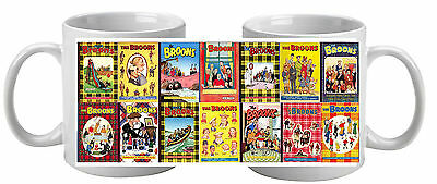 The Broons  Mug featuring 14 annual covers Great Gift Socking Filler