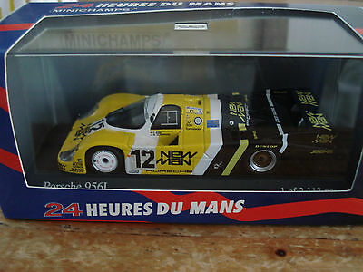 "Minichamps PORSCHE 956L Le Mans 1983 #12 Joest Racing ""New Man"" 1:43 Ltd Ed NLA"