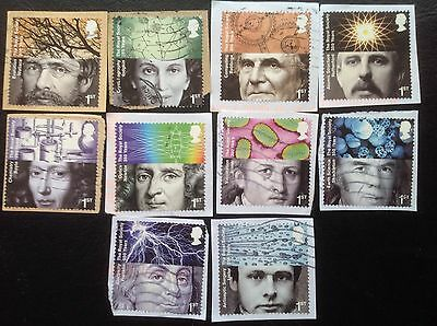 GB STAMPS 2010 - Anniversary of the Royal Society - used set - Multi Issue