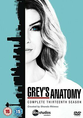 Grey's Anatomy Season 13 New & Sealed DVD Boxset