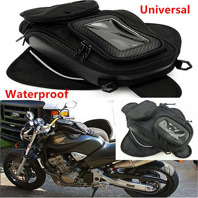 1x Waterproof Magnetic Motorcycle Motorbike Oil Fuel Tank Bag Luggage Universal