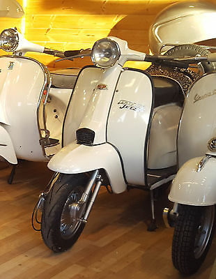 1979 Lambretta (Servetta) JET 200 MARK 3 (SX200) - UK Restoration