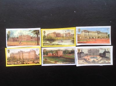 GB STAMPS 2014 Buckingham Palace used set on Paper - Multi Issue