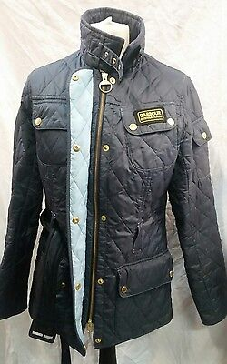 Womens Barbour International Quilted Jacket Size 12