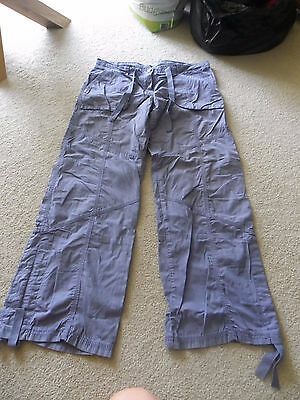 Blue M&S trousers size 14