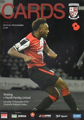 2016-17 - Woking v North Ferriby United 12.11.2016