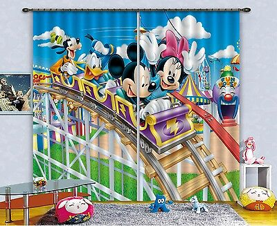 3D Cartoon  731 Blockout Photo Curtain Printing Curtains Drapes Fabric Window CA