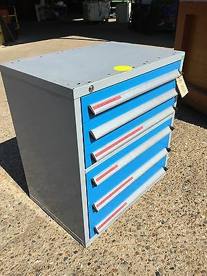 Bott Steel Parts Drawers, With 6 Drawers, With Key