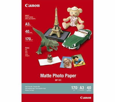 CANON A3 MP-101 Photo Paper - 40 Sheets - Currys