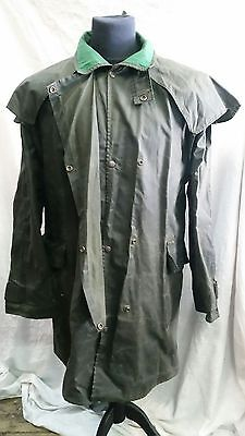 Mens Drizabone Short Wax Coat Size Large