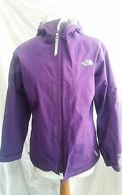 Girls The North Face Hyvent Waterproof Jacket Size Large (14/16 years)