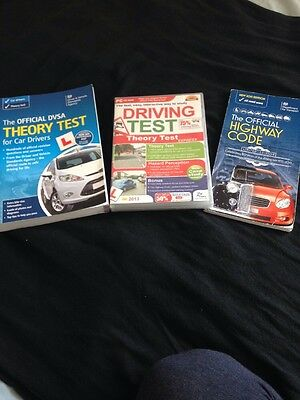 Theory Test Book + Highway Code + CD