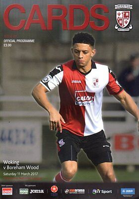 2016-17 - Woking v Boreham Wood 11.3.2017