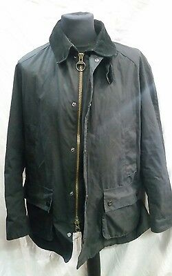 Mens Barbour Ashby Wax Jacket Size XL